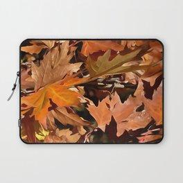 Artistic Fall Leaves In Autumn Sunshine 2 Laptop Sleeve