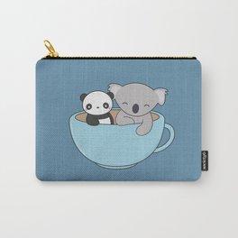 Kawaii Cute Koala and Panda Carry-All Pouch