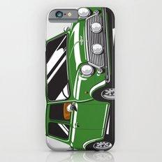 Mini Cooper Car - British Racing Green iPhone 6s Slim Case