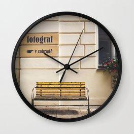 Fotograf Wall Clock