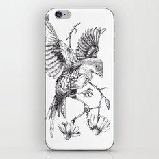 Come il vento tra le costole iPhone & iPod Skin