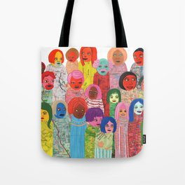 All the People Tote Bag