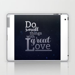 Love Widely  Laptop & iPad Skin
