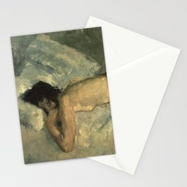 George Hendrik Breitner - Reclining nude, 1887 Stationery Cards