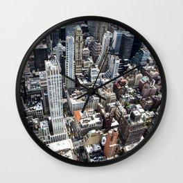 Built up Area Wall Clock