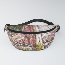 Buttress root in the rainforest Fanny Pack