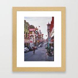 ChinaTown Framed Art Print