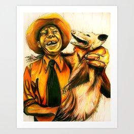 Possum Pals Art Print