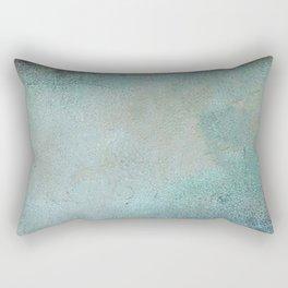 Patina Copper rustic decor Rectangular Pillow