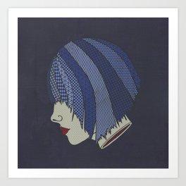 Heads Will Roll (Blues) Art Print