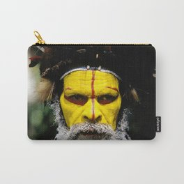 Papua New Guinea: Huli Wigman Carry-All Pouch