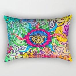 The Blazing Sun Rectangular Pillow