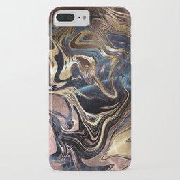Liquid Gold Marble iPhone Case