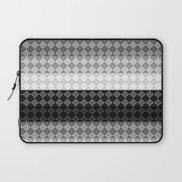 Striped geometric pattern Laptop Sleeve