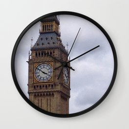 Golden Three Fifty Wall Clock