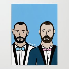 Beard Boy: Albert & Lucho Poster