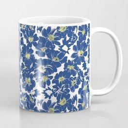 Blue Explosion Flower Coffee Mug
