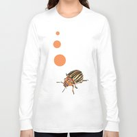 insect Long Sleeve T-shirts featuring Insect by Chiara Martinelli Creations