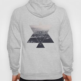 Adventure awaits Typography Gorgeous Mountain View Hoody