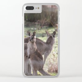On the Lookout Clear iPhone Case