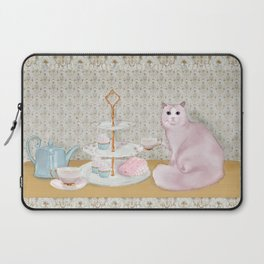 Cat's Tea Party Laptop Sleeve