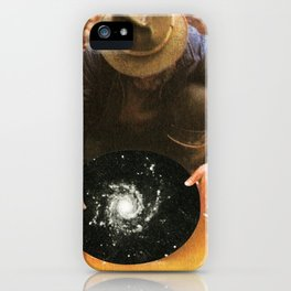Panning for gold iPhone Case