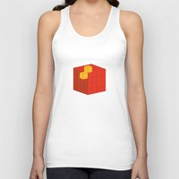 fez Tank Tops featuring PAUSE – A Fez by PAUSE