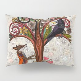 fox and crow Pillow Sham