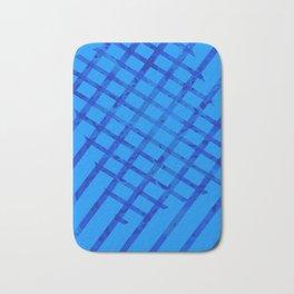 Diagonal abstract #2 Bath Mat