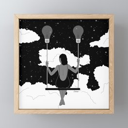 Let Your Ideas Carry You Framed Mini Art Print