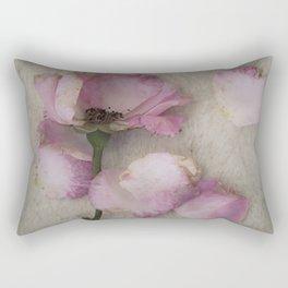 Wilted Rose Rectangular Pillow