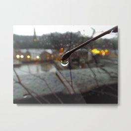 Rainy evening Metal Print