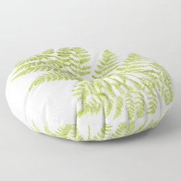 Fresh Fern Modern Botanical Floor Pillow
