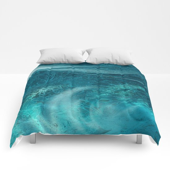 aqua Comforters