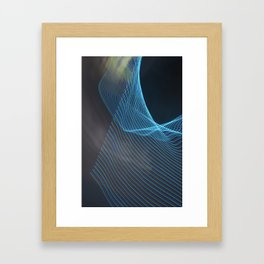 Chunking Down To The Subatomic Framed Art Print