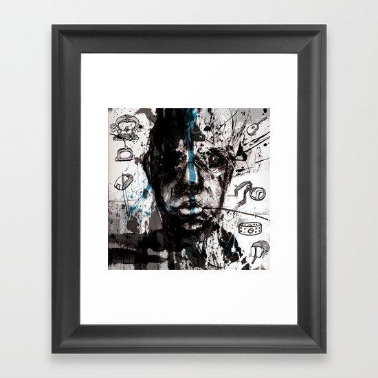 A Name Framed Art Print