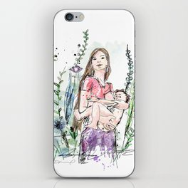 Natural Breastfeeding iPhone Skin