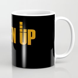 Listen Up Dark Coffee Mug