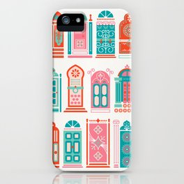 Moroccan Doors – Watermelon Palette iPhone Case