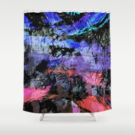 abstract 10,16 Shower Curtain