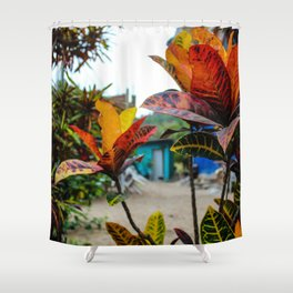 Dreamy Mexican Garden Shower Curtain