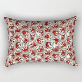 Free Hugs clowns Rectangular Pillow
