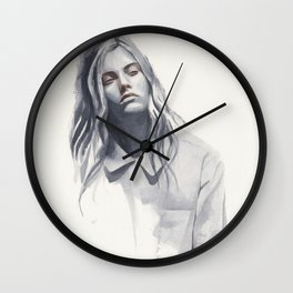Small watercolor 04 Wall Clock