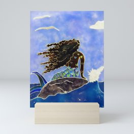 Lady of the Atlantic Crossing Mini Art Print
