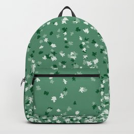 Floating Confetti Dots - Evergreen Backpack
