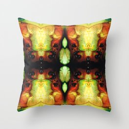 Healing Energy - Visionary Art By Sharon Cummings Throw Pillow