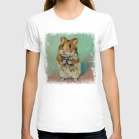 hamster T-shirts featuring Hamster by Michael Creese