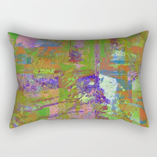 Abstract Thoughts Rectangular Pillow