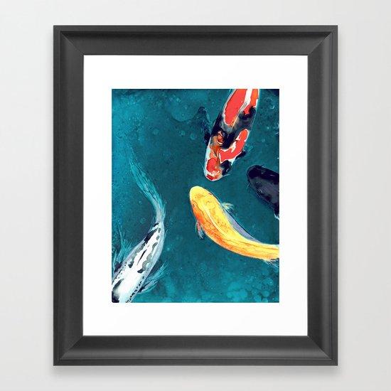 Water Ballet Framed Art Print