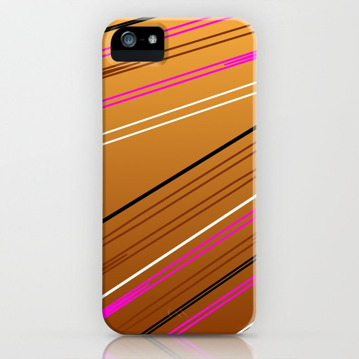 Soft Brown iPhone Case
